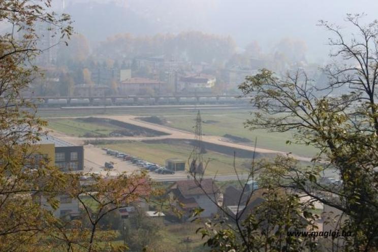 Maglaj: Radovi na izgradnji raskrsnice u industrijskoj zoni u Misurićima