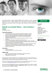 MANN HUMMEL: Potrebni radnici na montaži filtera