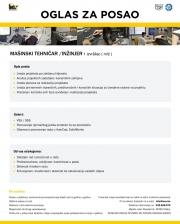 Inox Ajanović d.o.o.: Potreban mašinski tehničar/inžinjer