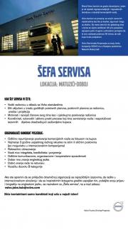 Volvo-podružnica Matuzići: Potrebni radnici