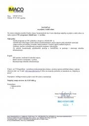 IMACO SYSTEMTECHNIK: Potreban CNC programer