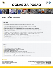 INOX AJANOVIĆ: Potrebni električari
